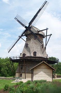 The Fabyan Windmill is open weekends, May 15 – October 15, from 1-4 p.m. Private tours are also available by appointment. Call 630-208-8662