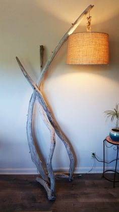 The arch  Driftwood floor lamp rustic by LukeAndLucaDriftwood