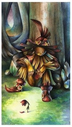 Skull Kid's Tears by uniqueLegend.deviantart.com on @deviantART
