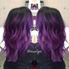 Purple hair by houseofgen