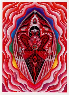 Root Chakra ~ I Am ruby roots reach way down, deep in Mother Earth safe inside Great Gaia, She who gave us birth receiving Her abundant strength, in reverence we stand with our feet firmly planted upon Her sacred land - Mara Berendt Friedman Arte Chakra, Chakra Art, Chakra Healing, Muladhara Chakra, Sacred Feminine, Divine Feminine, Arte Latina, Moon Time, Arte Tribal