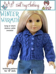 Doll Tag Clothing pattern at Liberty Jane Patterns