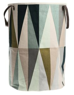 """Search Results for """"ferm living spear laundry basket multi – domino Duvet, Laundry Bin, Laundry Baskets, Washing Basket, Laundry Room Bathroom, Little Girl Rooms, Luxury Shop, Kid Spaces, Geometric Designs"""