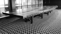 Master Artisan Table by Steel Vintage Industrial Furniture Uk, Industrial Style Dining Table, Dining Table Legs, Rustic Furniture, Furniture Movers, Furniture Companies, Steampunk Desk, Wood Resin, Cheap Furniture