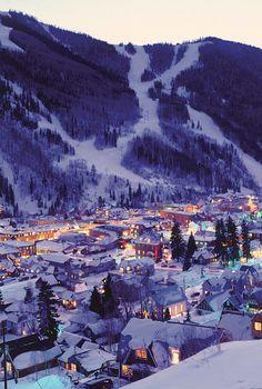 Night Lights of Telluride | by © Visit Colorado | via hellanne