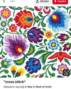 Thrilling Designing Your Own Cross Stitch Embroidery Patterns Ideas. Exhilarating Designing Your Own Cross Stitch Embroidery Patterns Ideas. Counted Cross Stitch Patterns, Cross Stitch Charts, Cross Stitch Designs, Cross Stitch Embroidery, Embroidery Patterns, Tapestry Crochet, Cross Stitch Flowers, Cross Stitching, Needlepoint