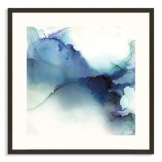 Our Artists' Collection Upon the Tail Printed Wall Art alcohol ink art