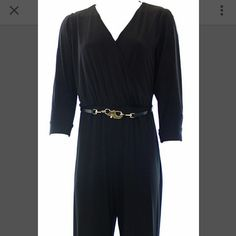 Black Calvin Klein jumpsuit with slit sleeves Worn once Calvin Klein Other
