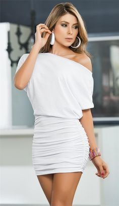 White Minidress