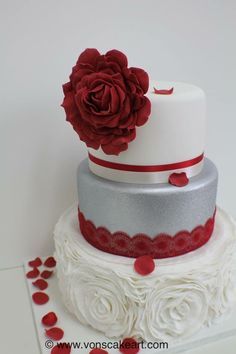 Find This Pin And More On Cake Birthday Wedding Cakes Cupcakes Cookies By Jackie Robinson