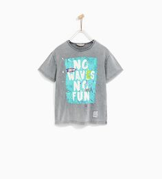 TEXT T-SHIRT - Available in more colours