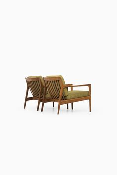 Folke Ohlsson USA 75 easy chairs by Dux at Studio Schalling