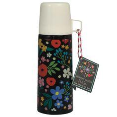 Midnight Garden Flask And Cup | DotComGiftShop