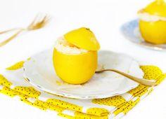 Citroensoufflé in een citroen - SINNER SUNDAY