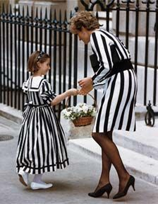 June 25, 1993: Princess Diana attending the Child Health at Spencer House, London.