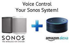 Tech Update: Controlling Sonos with Alexa - We have been getting many questions about Amazon's Alexa controlled Echo speaker pairing with Sonos, we hope to clarify a few of those.