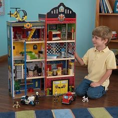 boy doll house | Holiday Gift Guide: The Best Toys for Little Boys