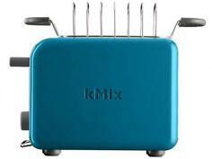 Torradeira Kenwood Azul kMix TTM023 - Regulagem de Tostagem com as melhores condições você encontra no Magazine Siarra. Confira!