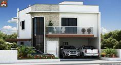 Planta de Sobrado - 3 Quartos - 215.29m² - Monte Sua Casa