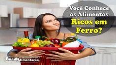 Você Conhece os Alimentos Ricos em Ferro?  [ Veja+ ]  Acesse: http://boaalimentacao.com/alimentos-ricos-em-ferro/ Se você gostar, compartilhe e Ajude Seus Amigos...   - Tags: alimentos ricos em ferro