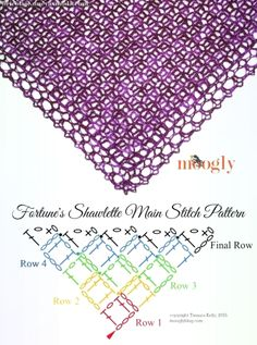 Knitting Patterns Scarves How To Crochet Shawl Poncho Au Crochet, Poncho Knitting Patterns, Crochet Shawls And Wraps, Crochet Stitches Patterns, Crochet Scarves, Crochet Clothes, Poncho Shawl, Lace Shawls, Scarf Patterns