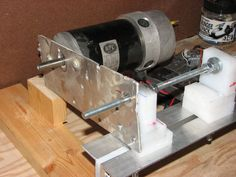 Homemade Lathe: 20 Steps (with Pictures) Diy Lathe, Wood Lathe, Homemade Lathe, Mini Tour, Cool Fish, Lathe Projects, Fishing Accessories, Diy Tools, Crafting Tools