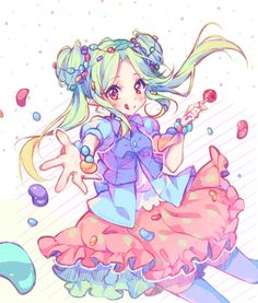 [+Video] Commission - Sweet party! by Hyanna-Natsu.deviantart.com on @DeviantArt