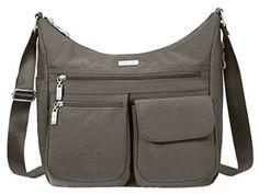 Amazon.com: Baggallini Everywhere Crossbody Travel Bag, Portobello, One Size: Shoes
