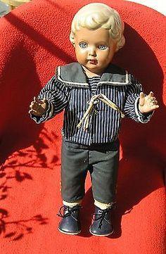Alte Schildkröt-Puppe