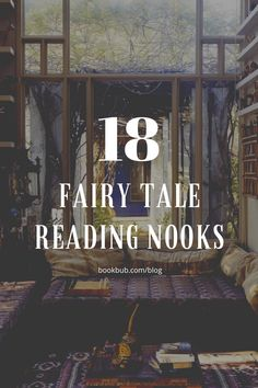 These enchanting reading nooks look like they are straight out of a fairy tale.  #books #readingnook #lounge Reading Nook Kids, Steampunk Book, Library Inspiration, Nook Ideas, Inner Child, Book Nooks, Where The Heart Is, Little Houses, Book Stuff