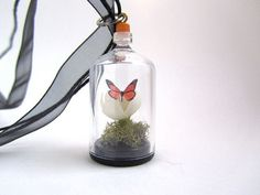 Your place to buy and sell all things handmade Garden Terrarium, Magnolia Flower, Glass Company, Growing Flowers, Minis, Fairy, Romantic, Table Decorations, Pendant