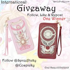 Join @SpreePicky NEW #CardCaptor #Sakura #Purse   #Giveaway     Click here to join :  http://goo.gl/iO13Ah http://goo.gl/iO13Ah  Order these lovely ?  Link here for item details: http://goo.gl/hrmQ0r  #spreepicky #spreepickygiveaway #giveaway #spsakuragiveaway #cardcaptorsakura #cardcaptorsakurabag #bag #purse #sakurapurse #cosplaybag #cosplay