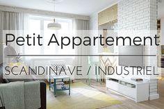 Petit Appartement Mélange de Style Scandinave & Industriel