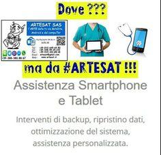 Assistenza SMARTPHONE e TABLET !!!! Interventi di Salvataggio dati Ripristino dati Ottimizzazione sistema e BATTERIA Assistenza personalizzata !!! Dove ??? Ma da #ARTESAT www.artesat.it  #as96 #aspc #stgoasbl #staswpbl  #stdwasfbpg #stdwfbac #sttcanot #stasappi #sttegfbac #sttggsp