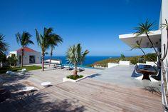Palm Springs Villa in St Barths - a stunning villa with fabulous ocean views