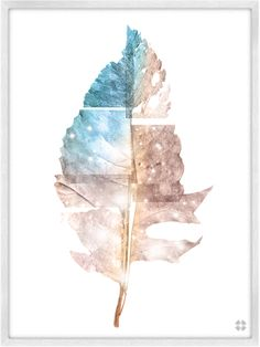 Leafy Mysteries No. 02, designed in the mind of CDR   • Museum grade archival digital print   • 100% cotton, Giclee paper   • 9 x 12 Inches or 18 x 24 Inches   • Unframed   • Printed in the USA  $18.00