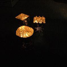 Sie leuchten wunderschön im Dunkeln. #DIY #doityourself #basteln #tutorial #laterne #decoration#DIY #doityourself #basteln #tutorial #laterne #decoration