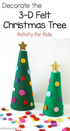 Kids will have a jolly time decorating these Craft stick Christmas ...