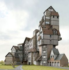 """Architectures Imaginaires"" Series Photo - Filip Dujardin"