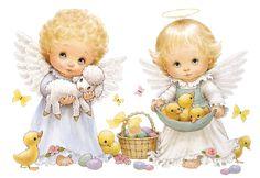 Angels Ruth Morehead ... very cute! - = (^. ^) = Ro Knitting and Crochet Mania = (^. ^) =