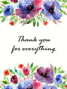 48 best thank you cards images on pinterest thank you cards send free thank you flower card to loved ones on birthday greeting cards by davia its free and you also can use your own customized birthday calendar m4hsunfo