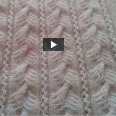 DIY & crafts projects, contents and more - Diy Crafts Knitting Orgu Yelek Sonbahar Cicekler 658862620469875726 P Easy Knitting Patterns, Knitting Stitches, Free Knitting, Baby Knitting, Stitch Patterns, Crochet Patterns, Diy Crafts Knitting, Diy Crafts Crochet, Knitting Videos