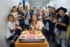 Namie Amuro 2015年9月19日 ·  The show in FUKUOKA for 2days had just ended!!! Thanks for the B'day song everyone❤︎❤︎❤︎ Amuro-chan is going up up up to North, HOKKAIDO next weekend!!!See you there!! 福岡公演終了致しました☆ 楽しんでいただけましたでしょうか?? 皆様、歌のプレゼントありがとうございました❤︎ お次は最北の地、北海道へ向かいますよー!!