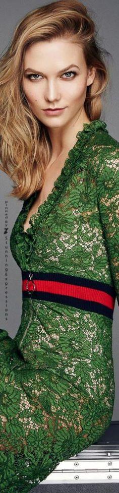 Karlie Kloss for ELLE UK