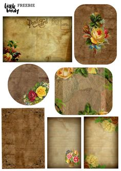 Printable Vintage Ephemera Freebie