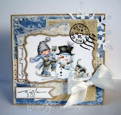 The perfect snowman from LOTV Fall Cards, Winter Cards, Holiday Cards, Christmas Cards, Christmas Clipart, Christmas Paper, Handmade Christmas, Card Making Inspiration, Making Ideas
