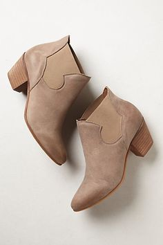 Looks like a cute pair of boots to have in your closet!...Chelsea Ankle Booties #anthropologie