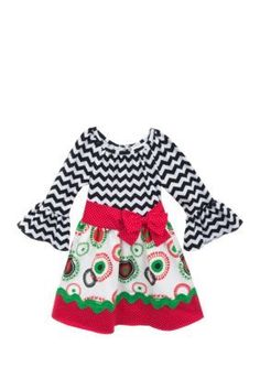 Counting Daisies by Rare Editions  Mixed Print Dress Girls 7-16