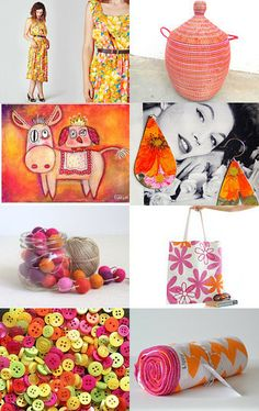 summer fashion  by mira (pinki) krispil on Etsy--Pinned with TreasuryPin.com