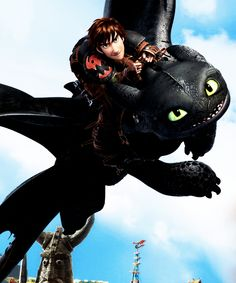 how to train your dragon 2 ... hiccup and toothless